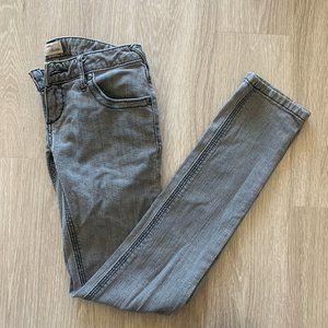 Free People Skinny Grey Jeans